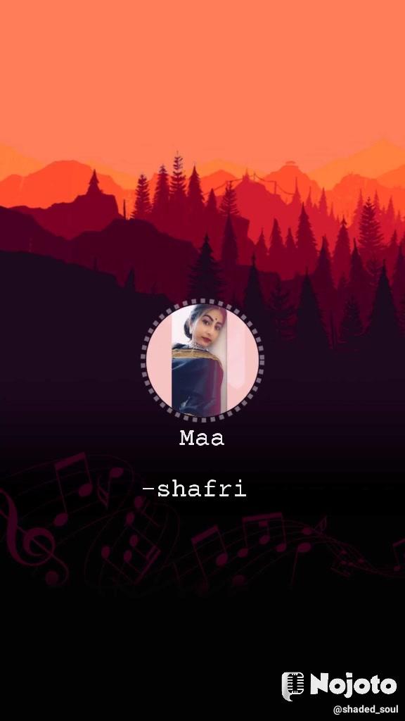 Maa  -shafri