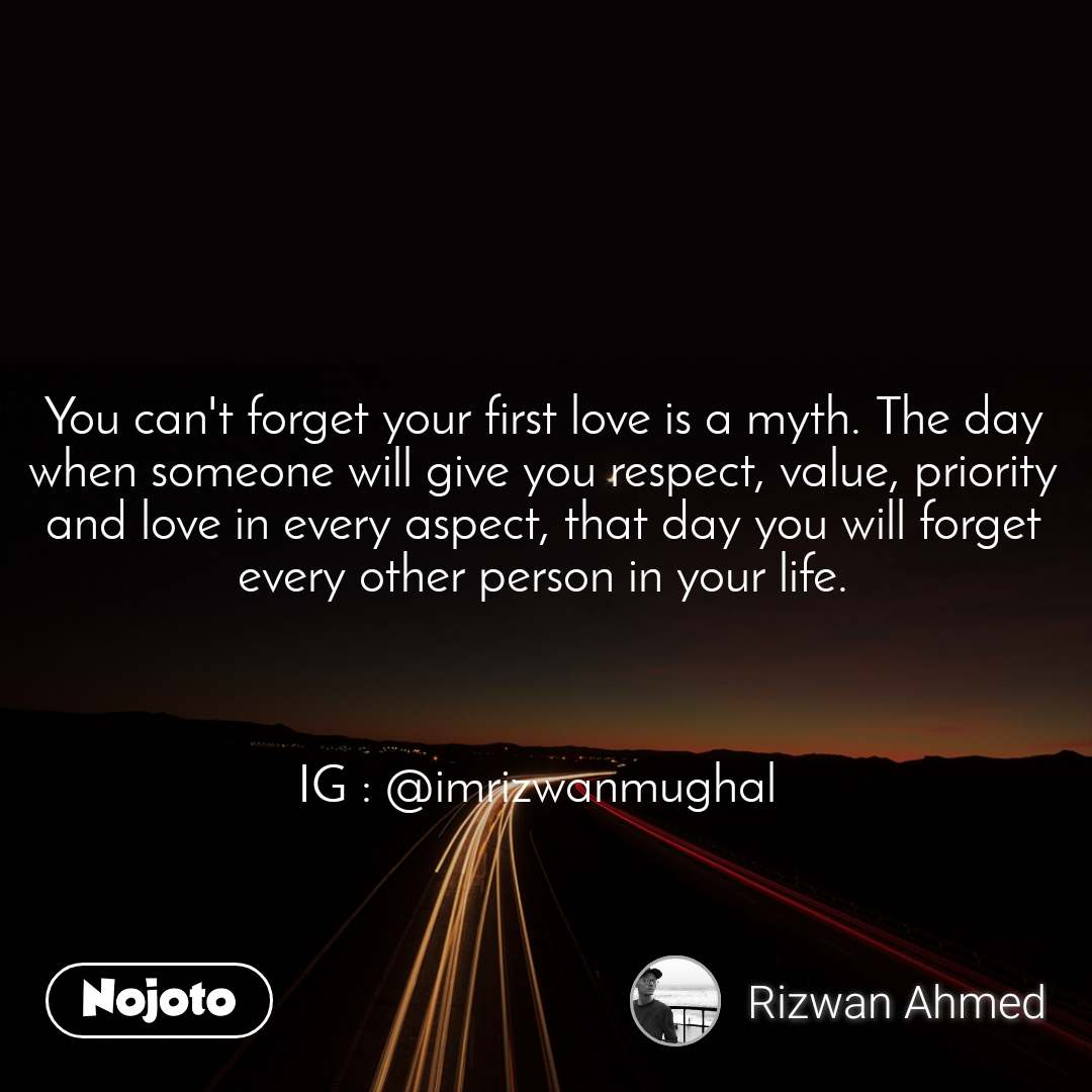 You can't forget your first love is a myth. The da | English Story...