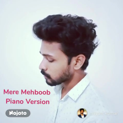 Mere Mehboob  Piano Version