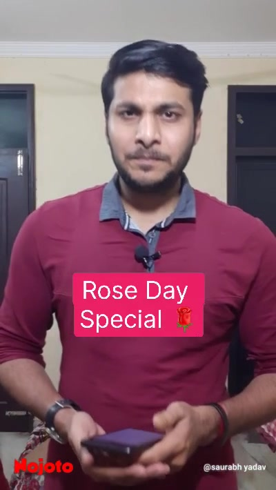 Rose Day  Special 🌹