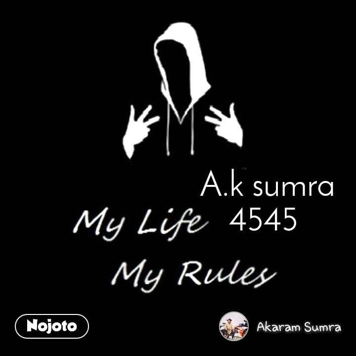 A.k sumra 4545