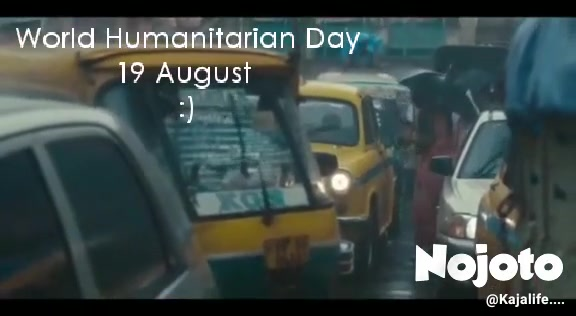 World Humanitarian Day 19 August  :)