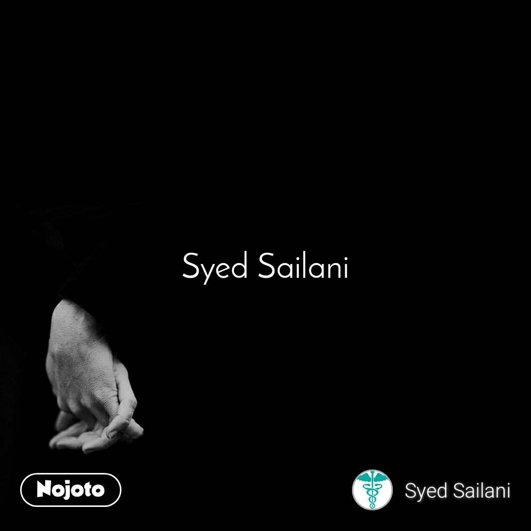 Syed Sailani