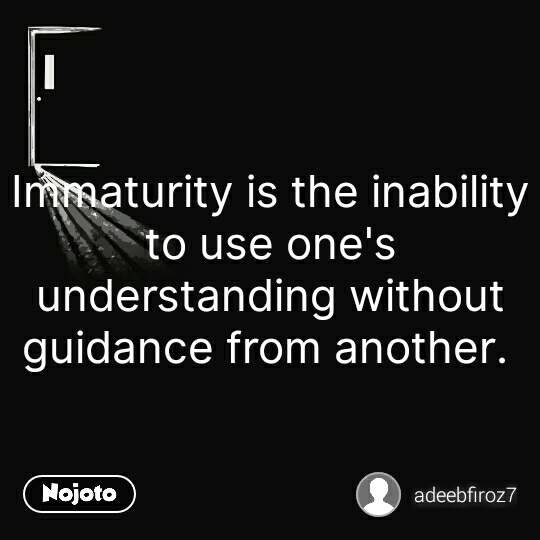Latest quotes on immaturity in relationships Image and Video ...