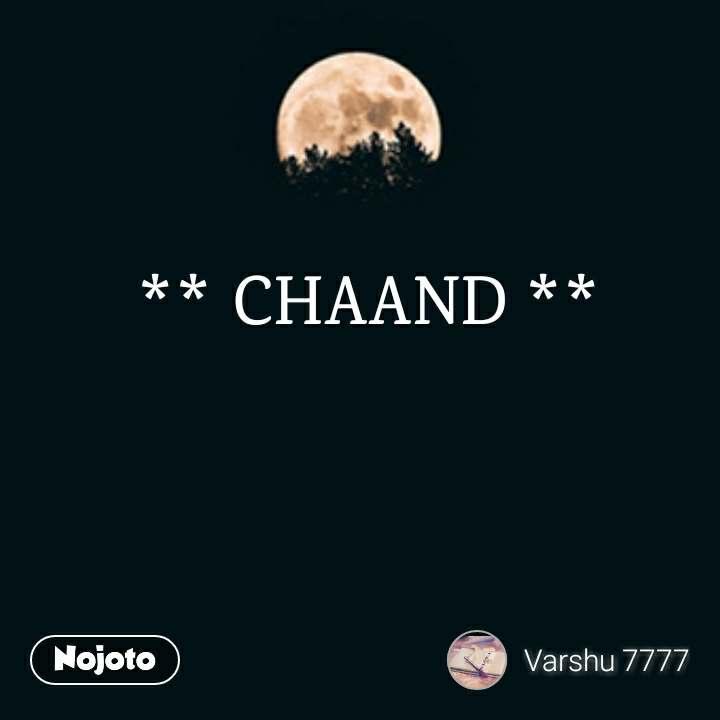 ** CHAAND **