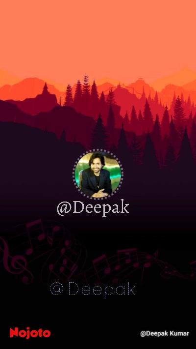 @Deepak @Deepak