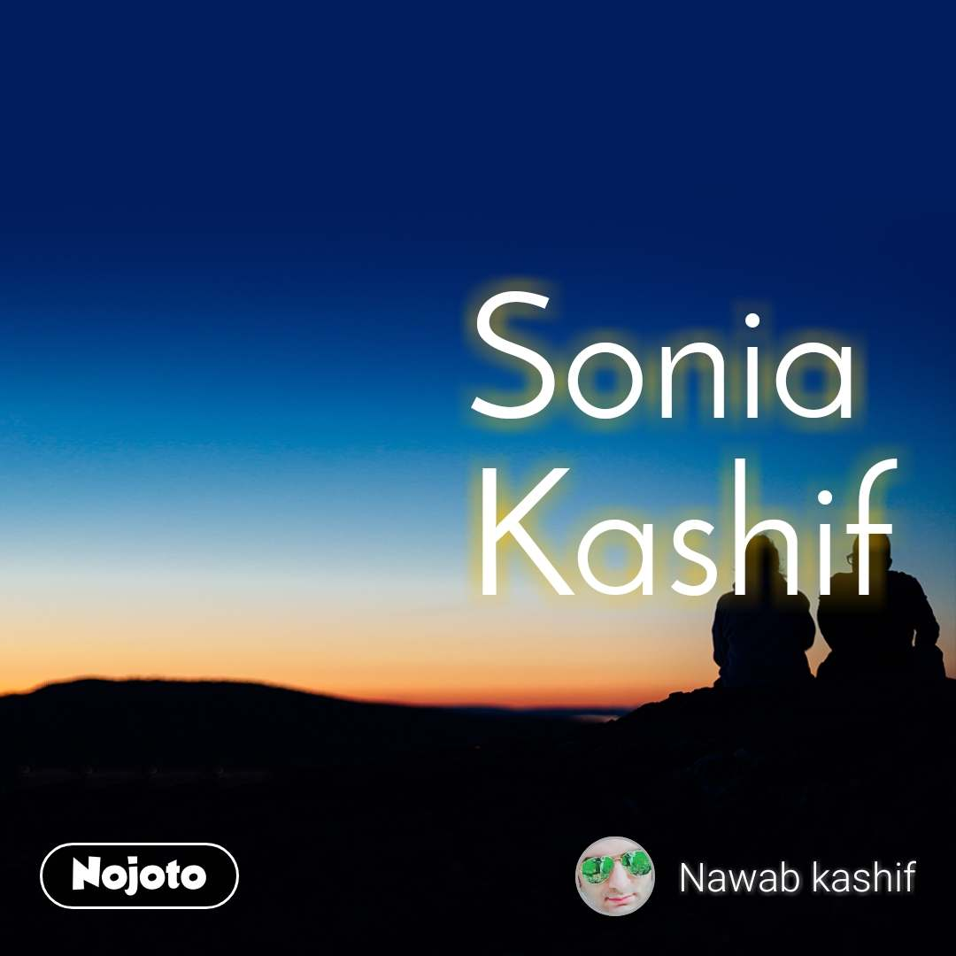 Sonia  Kashif