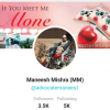 Maneesh Mishra (BHARAT) Author of Book IF YOU MEET ME ALONE. Lyricist, Lawyer, Yoga Instructor