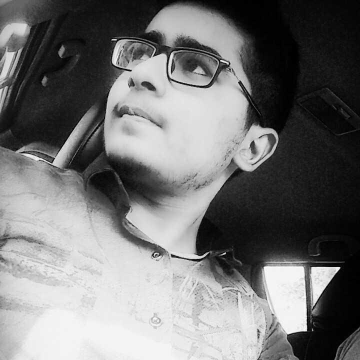 subhanshu bhayana i am not smart i just wear glasses ;)