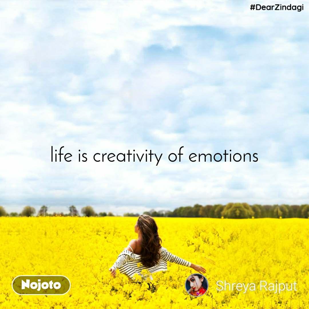 #DearZindagi life is creativity of emotions