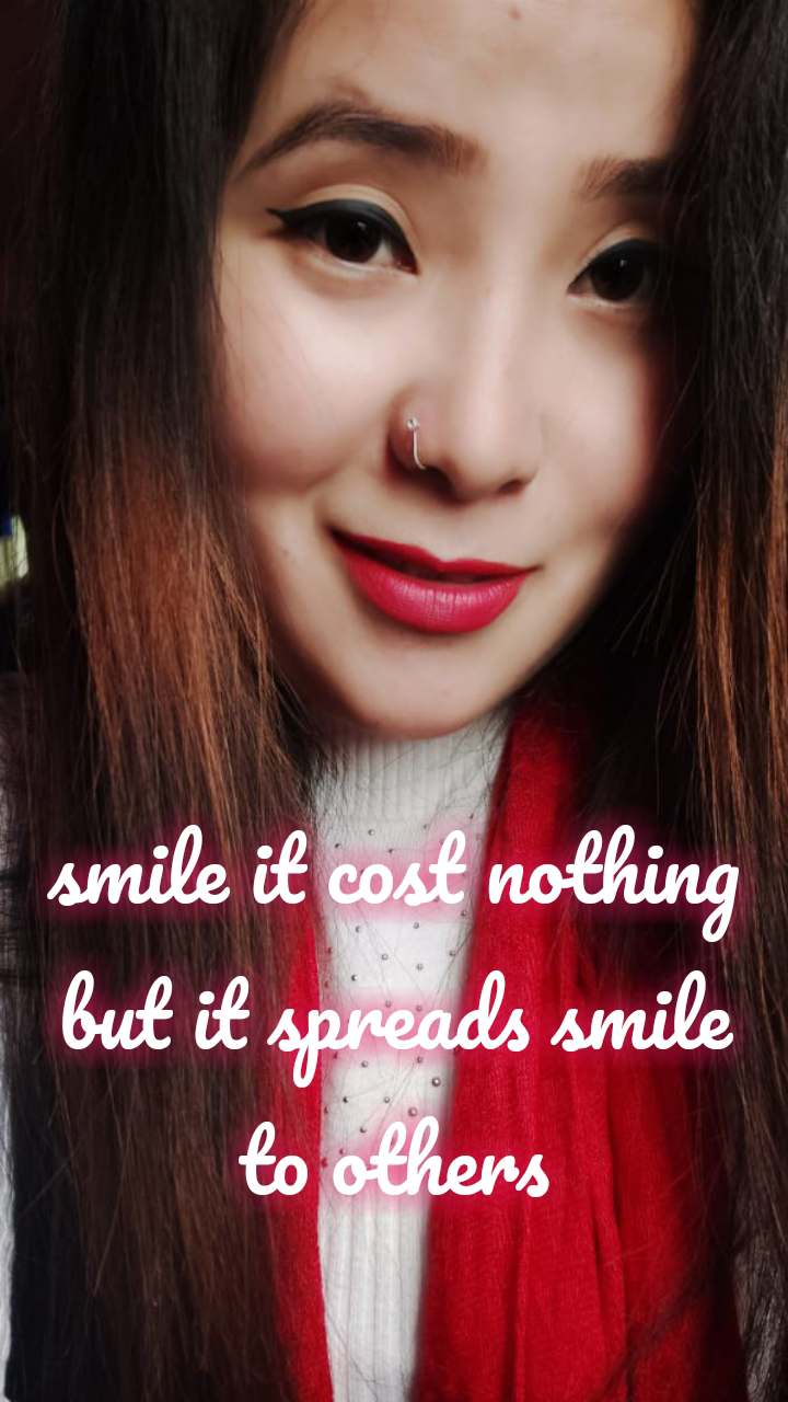 smile it cost nothing but it spreads smile to others