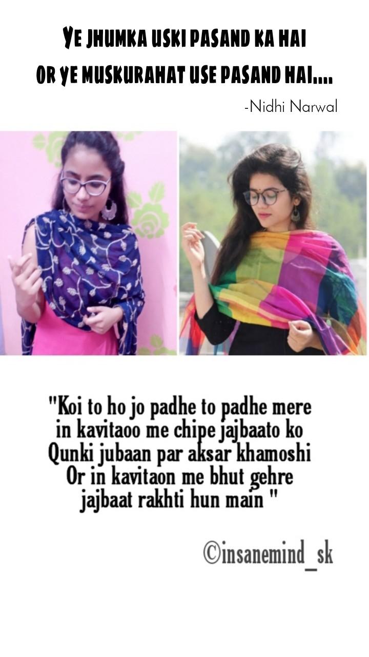 -Nidhi Narwal