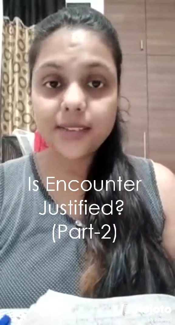 Is Encounter Justified?  (Part-2)