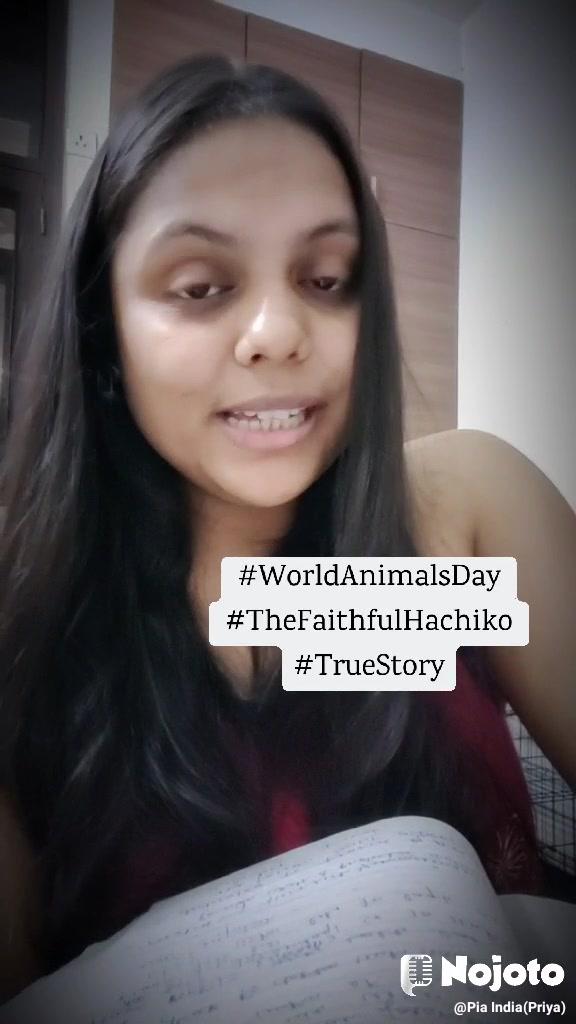 #WorldAnimalsDay #TheFaithfulHachiko #TrueStory
