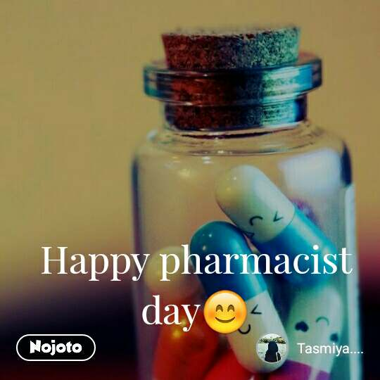 Happy pharmacist day😊