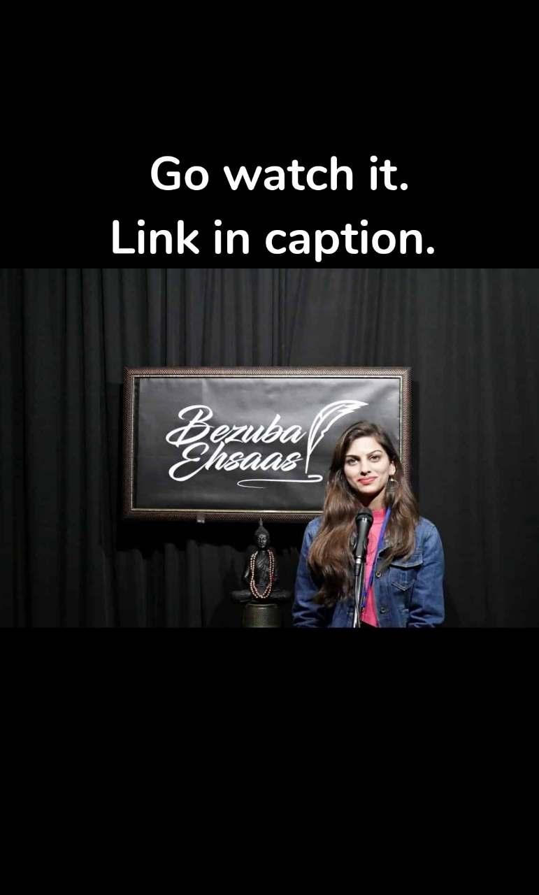 Go watch it. Link in caption.