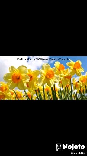 Daffodils by William WordsWorth