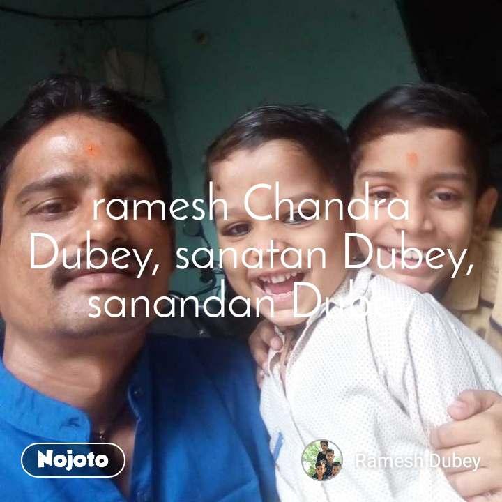 ramesh Chandra Dubey, sanatan Dubey, sanandan Dubey