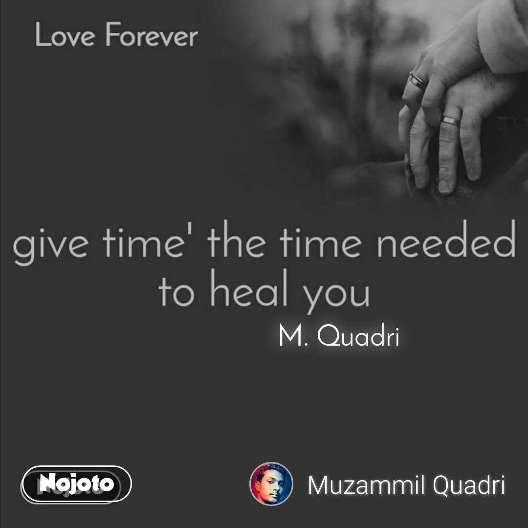 A writer is blessed because M. Quadri