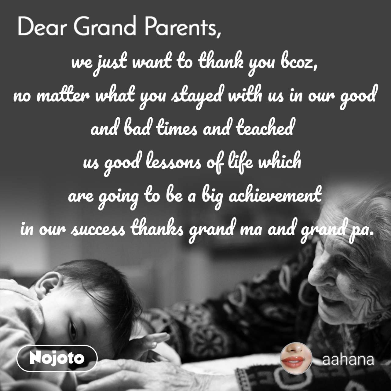 Best Grandparents Shayari, Status, Quotes, Stories | Nojoto