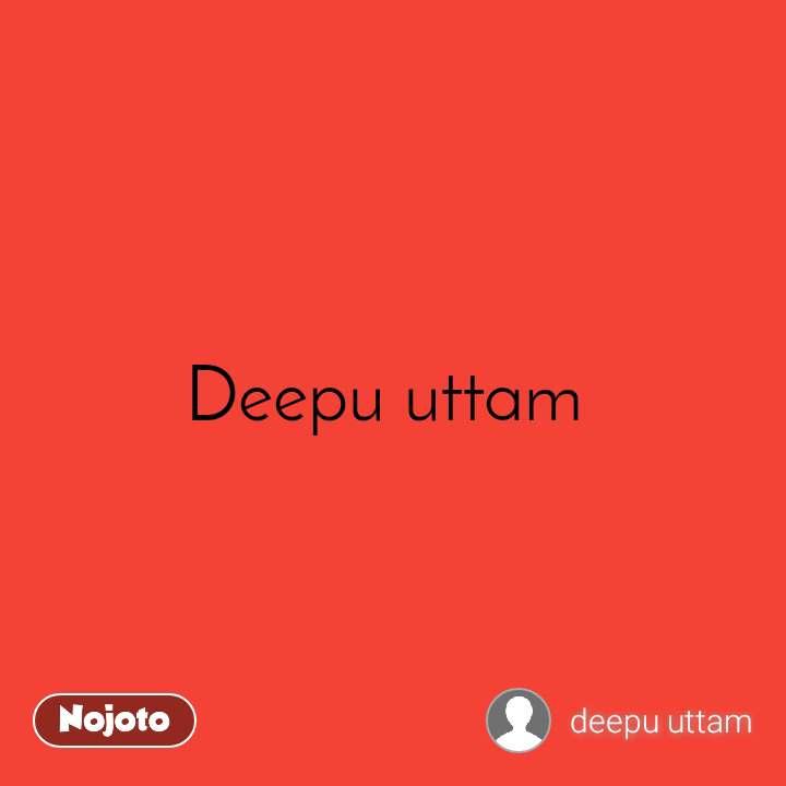 Deepu uttam