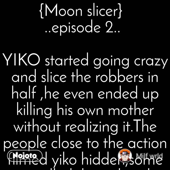 Festival of lights {Moon slicer} 