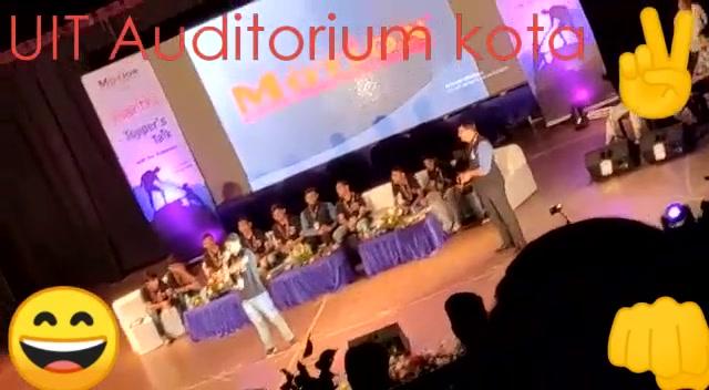 😄 ✌ 👊 UIT Auditorium kota