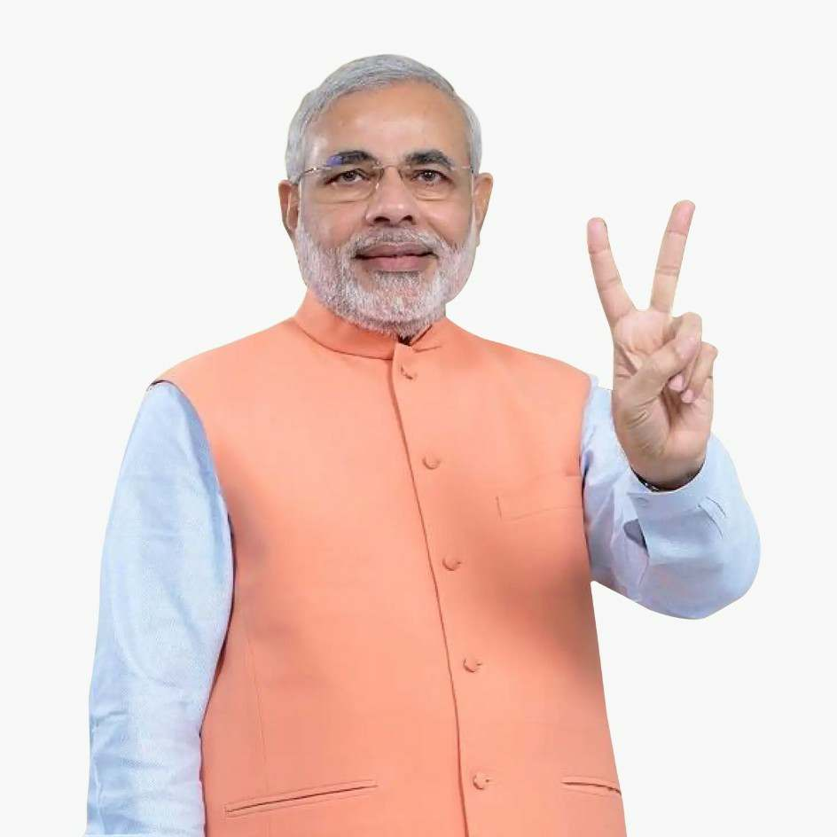 Narendra Modee  Victory to thee!Victory to thee! O