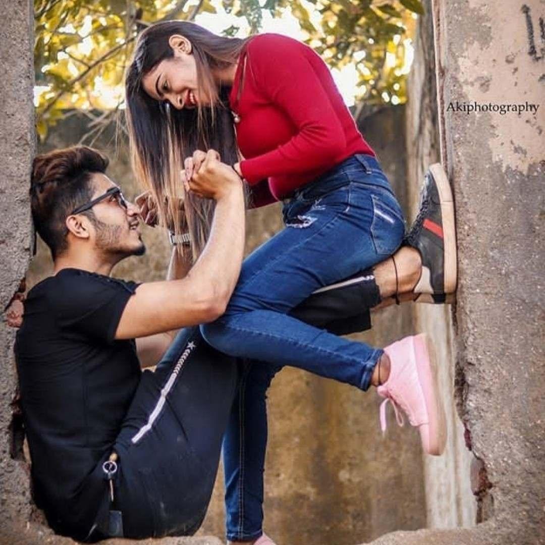 A Girl feels very lucky  when her partner enjoys h