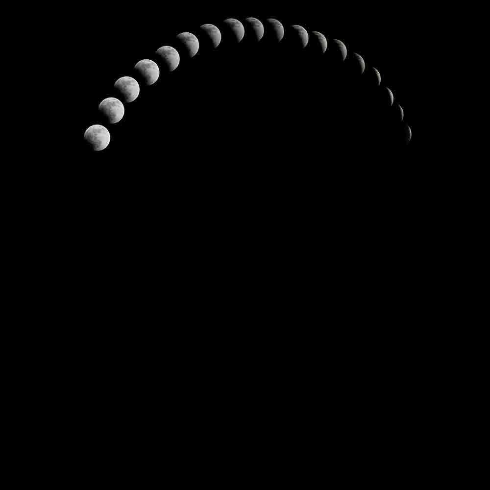 Journey of moon