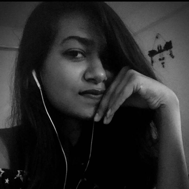 A girl is either  Poetry or Music :)