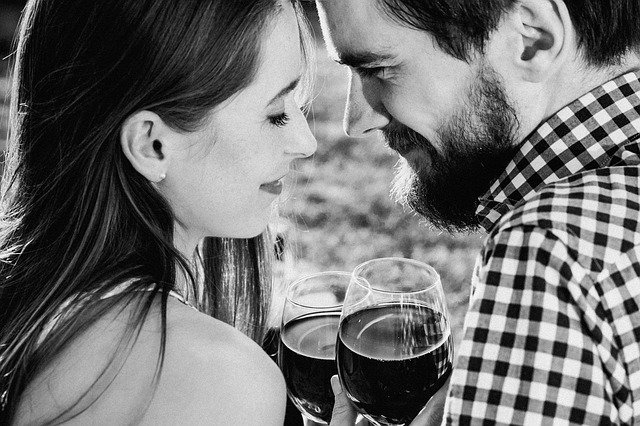 A wine decreases 5 minutes of life... A smile incr