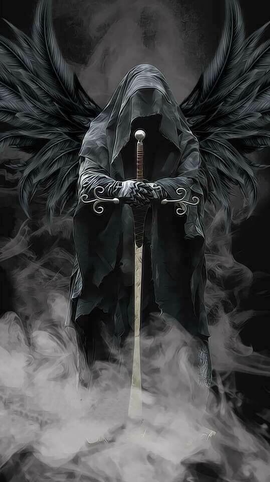 A warrior thinks of death when things become uncle